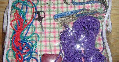 Инструмент для плетения макраме
