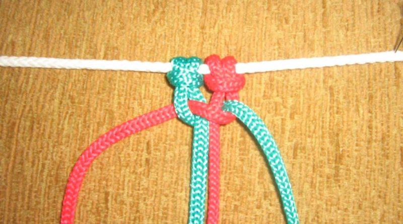 Одинарный плоский узел