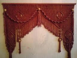 шторы из верёвок