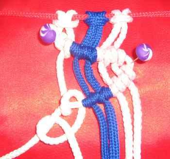 диагональный репсовый узел