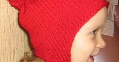 Красная шапочка с ушками