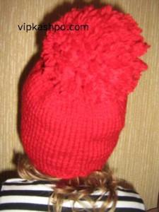 Затылок детской шапочки фото
