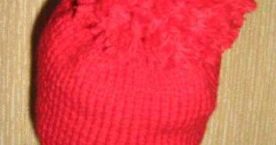 затылочная часть шапочки