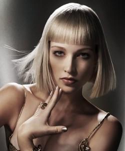 Стрижки для тонких волос с ровным срезом
