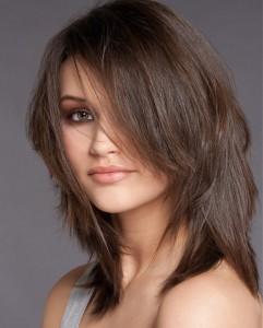 Модные стрижки на среднюю длину волос
