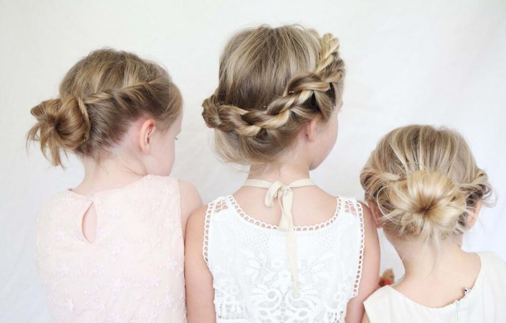 простое плетение красивых косичек для девочек пошагово