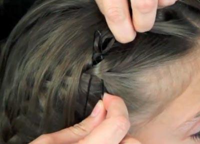 плетение косичек бантики для девушек фото пошагово