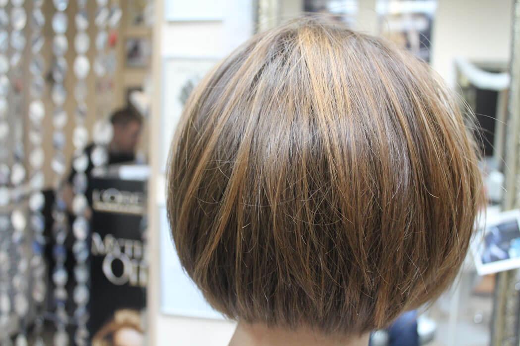 тонирование волос фото на темные короткие волосы этой модели характерно