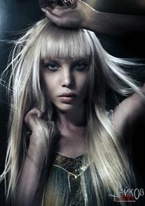 каре для длинных волос