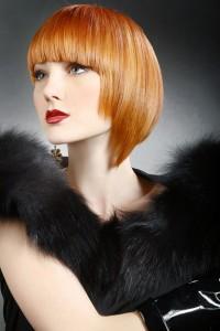 Стрижка боб для тонких волос