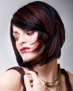 стрижки на средний волос 2013