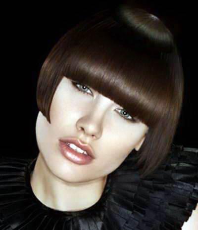 Стильные стрижки женские брюнетка