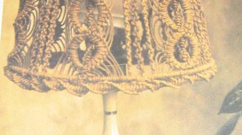 абажур макраме