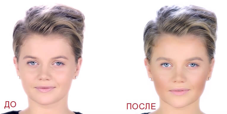 фото скульптурирование лица
