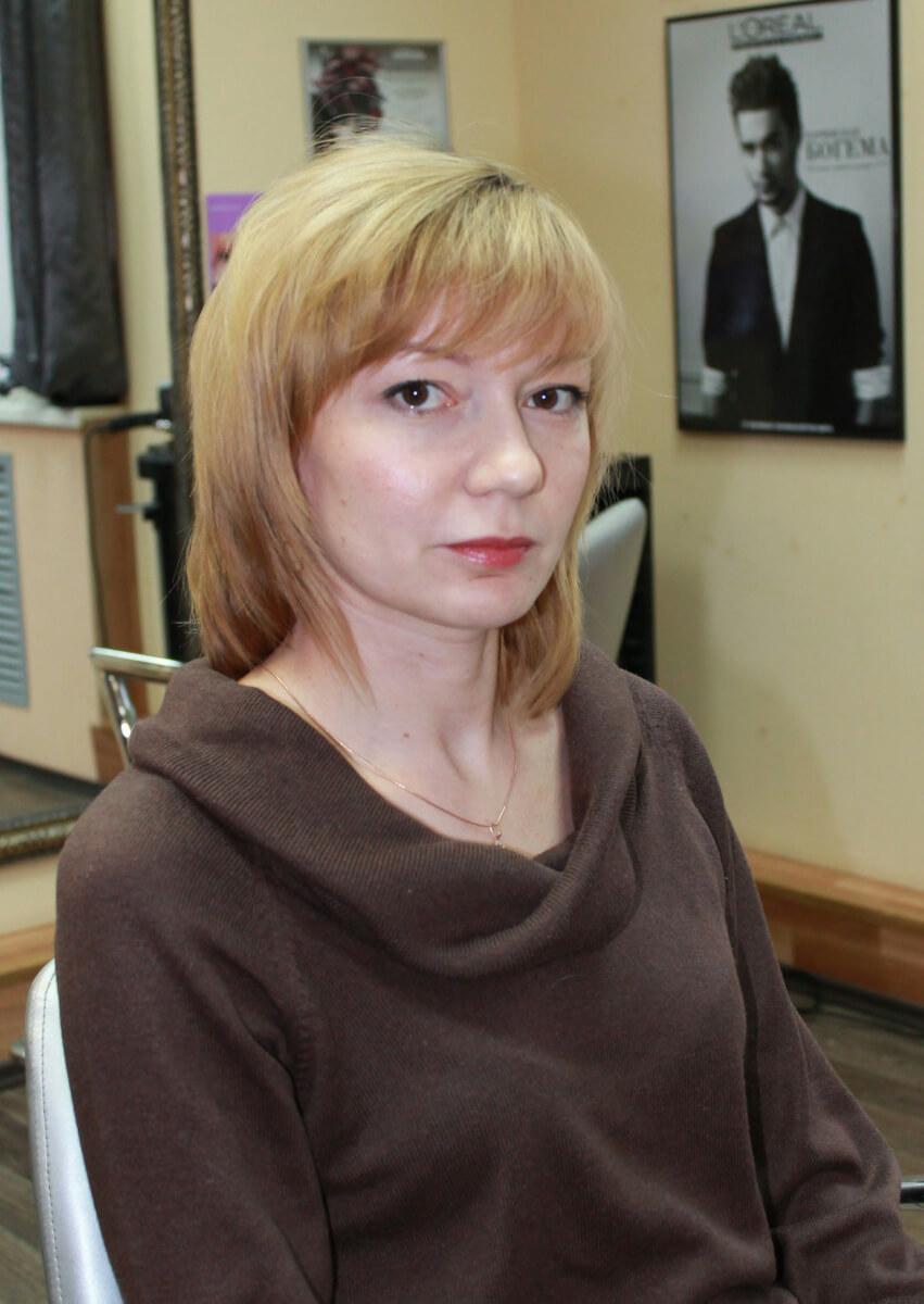 фотография волос до окрашивания