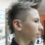 Ирокез на длинные волосы