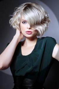 стрижка каре короткие вьющиеся волосы