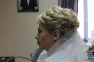 Свадебная прическа для коротких волос фото