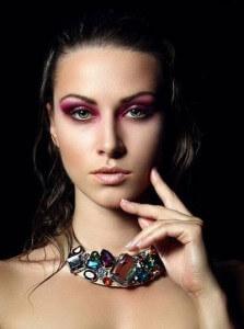 макияж розовыми тонами