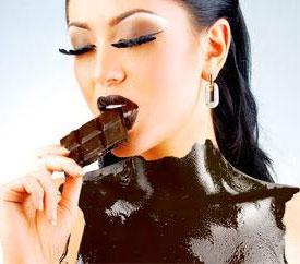девушка-шоколадка