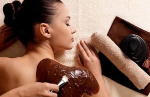 пеленание шоколадом
