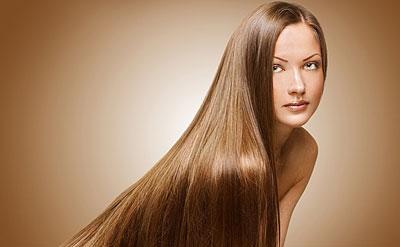 Восстановленные и выпрямленные волосы