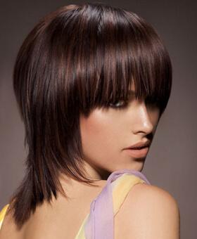 фото стрижка каскад короткие волосы