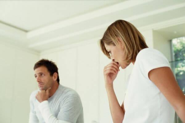 выяснение отношений в семье