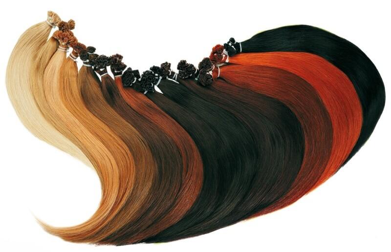 пучки волос для наращивания
