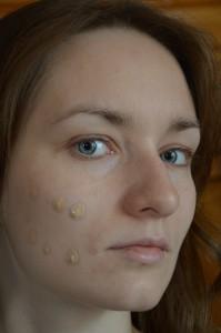 шаг 1 макияж для голубых глаз