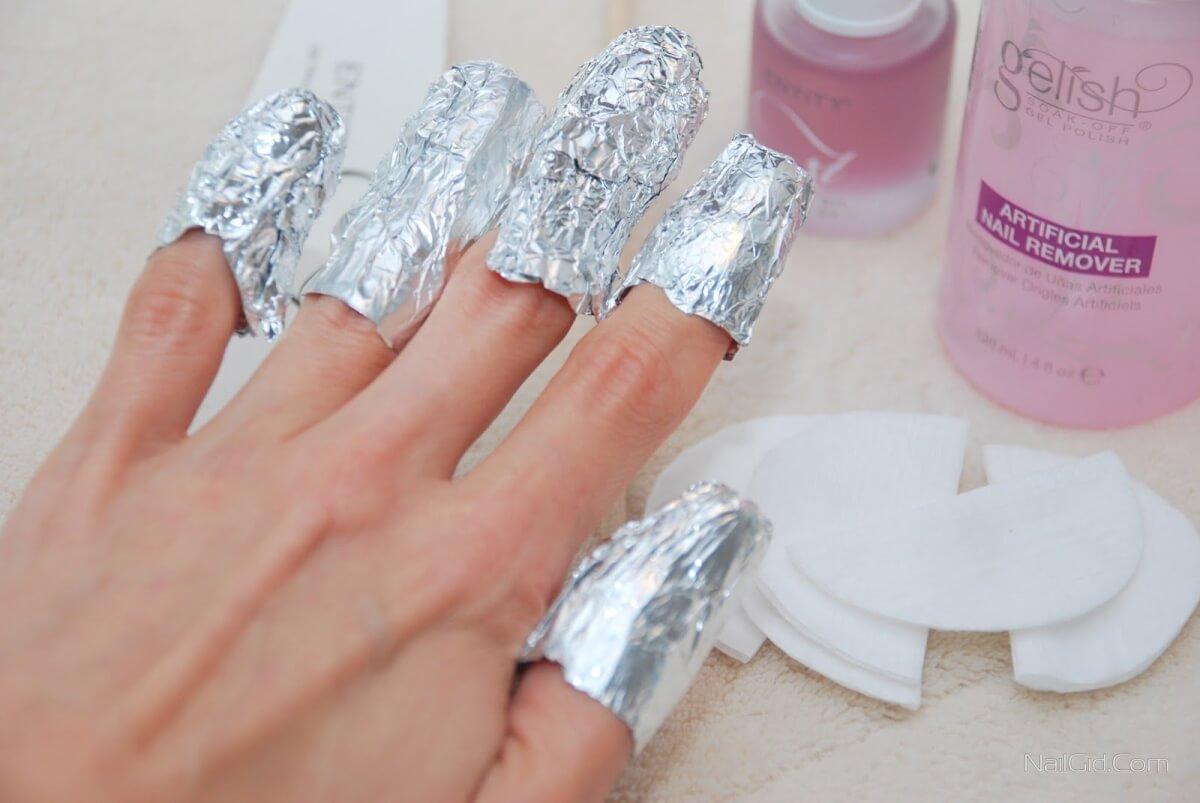 Как снимать гель-лак: с ногтей, в домашних условиях