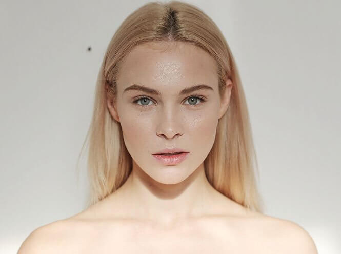 фото нюдового макияжа