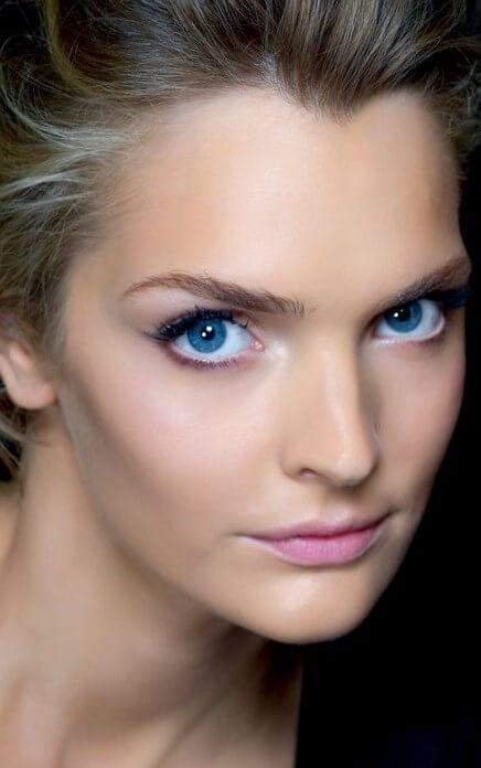 фото макияжа голубых глаз