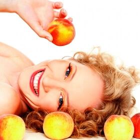 фото персикового масла для лица