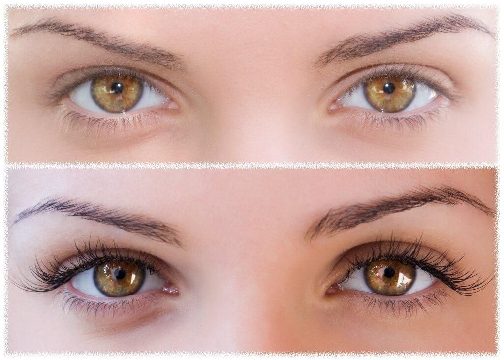биоламинирование ресниц фото до и после