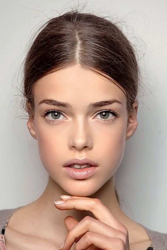 фото нюдового макияжа лица