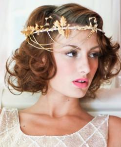 свадебные прически закрывающие уши фото