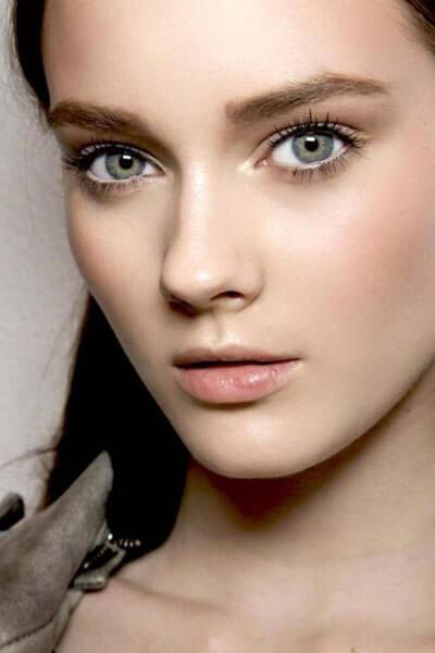 фото макияжа зеленых глаз