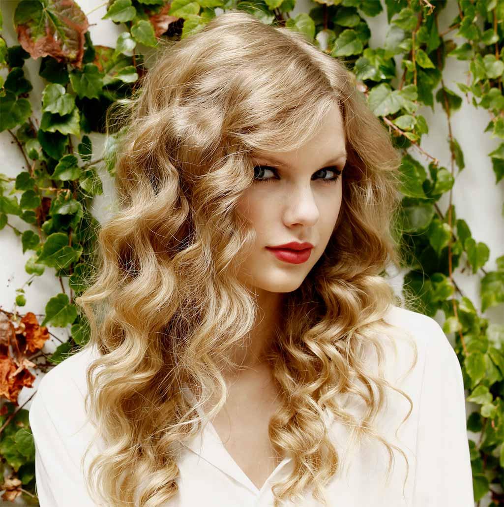 Фото девушек с химической завивкой на средние волосы
