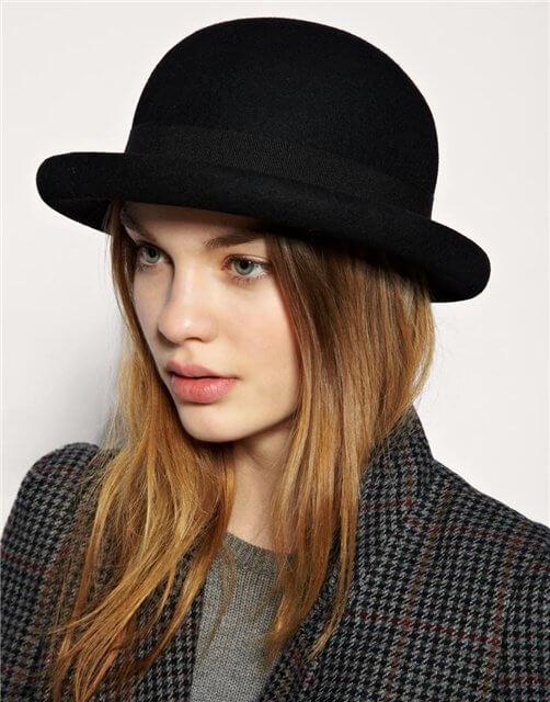 шляпа-котелок фото