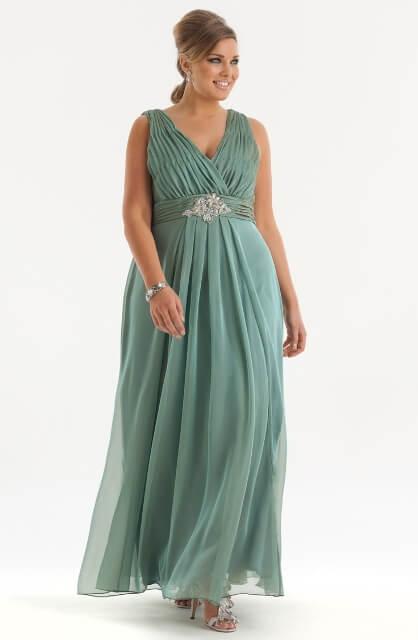 Вечерние платье ампир 19