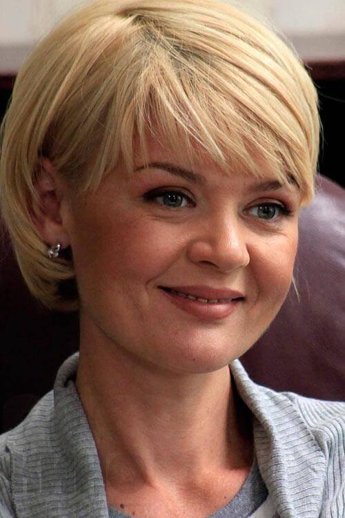 Юлия Меньшова короткий боб