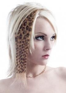 техника трафаретного окрашивания волос футураж видео