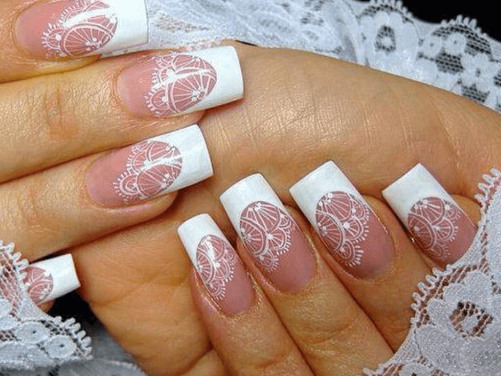 кружево на ногтях 2016 фото