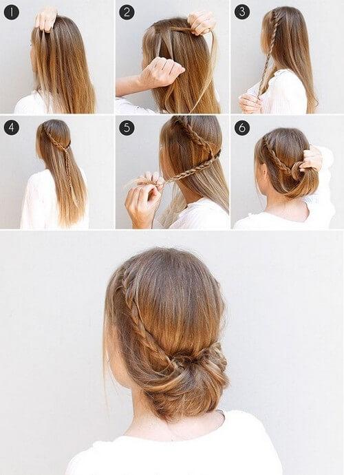 Как сделать греческую причёску легко и быстро