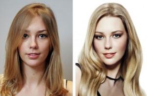 3d окрашивание волос фото до и после