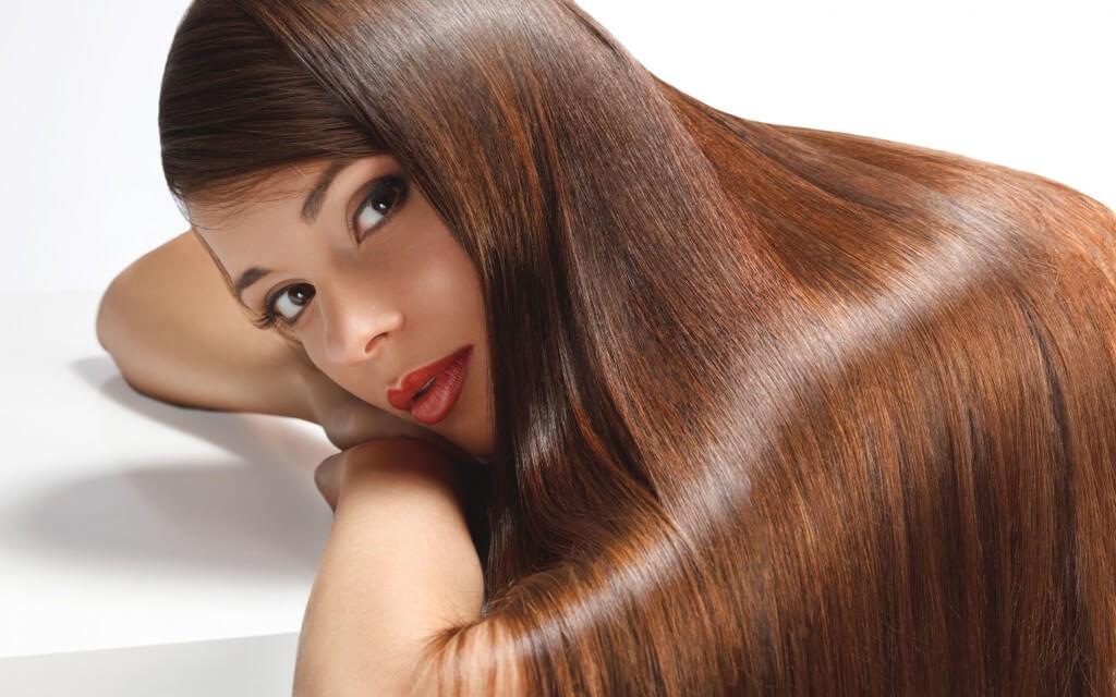 процедура полировки шлифовки волос