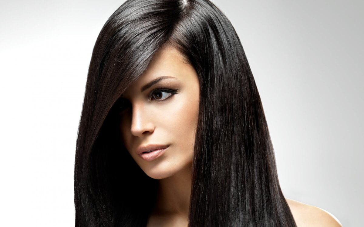 окраска волос фотографии оттенки брюнеток: