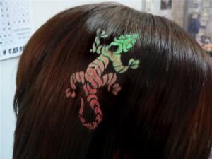 трафаретное окрашивание волос футураж цена
