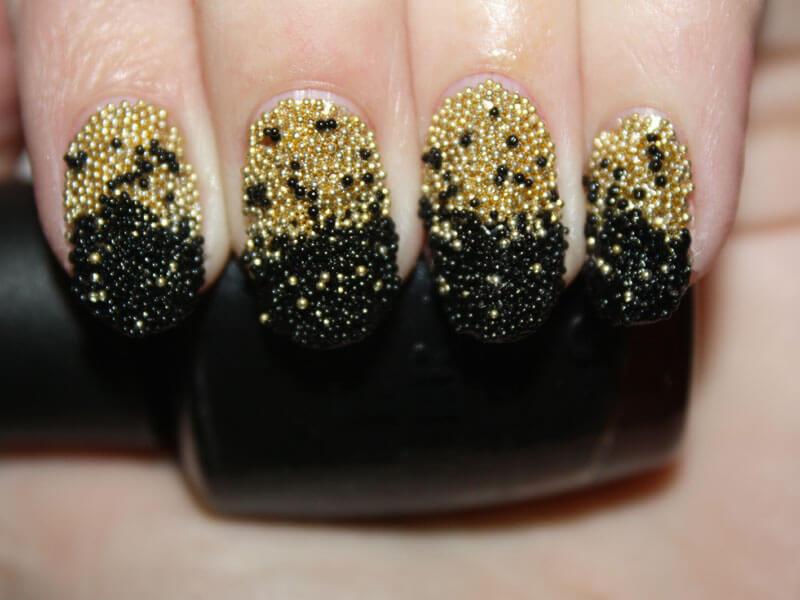 фото кругляшки на ногтях